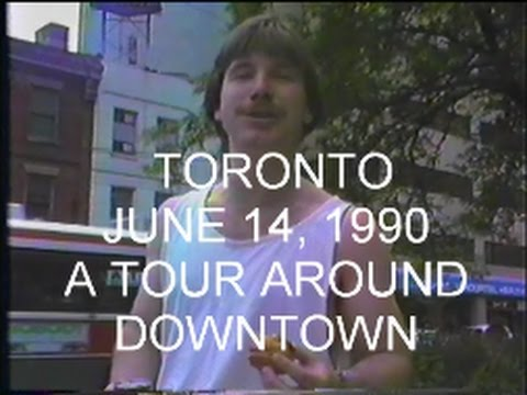 TORONTO - JUNE 14, 1990 - Guided Tour of Downtown