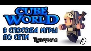 данькины туторы #1 - Как играть в Cube World по сети .3 способа