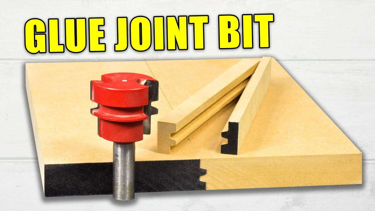 Reversible Glue Joint Router Bits Use And Setup Wood Router Tutorial