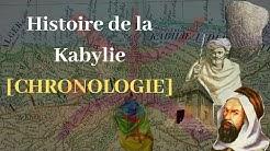 Histoire de la Kabylie [CHRONOLOGIE]