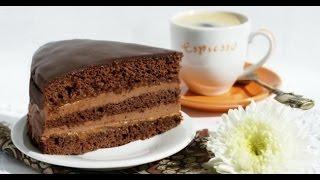 """Простой и быстрый рецепт вкусного торта (торт """"Прага"""")"""