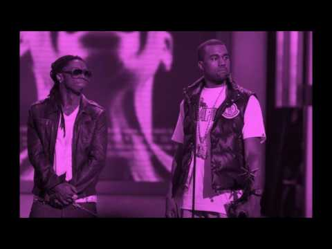 Lil Wayne ft Static Major and Kanye West  Lollipop Remix Chopped and Screwed