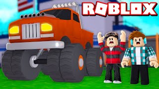 I WON A MONSTER CAR IN ROBLOX 🚗😱