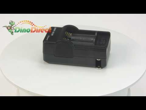 TrustFire 880mAh 16340 Li-ion PCB Rechargeable Battery & Double Charger Kit from Dinodirect.com from YouTube · Duration:  40 seconds