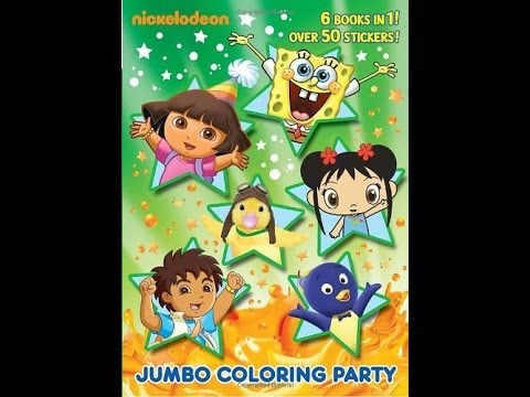 Nick Jr. coloring book review - YouTube
