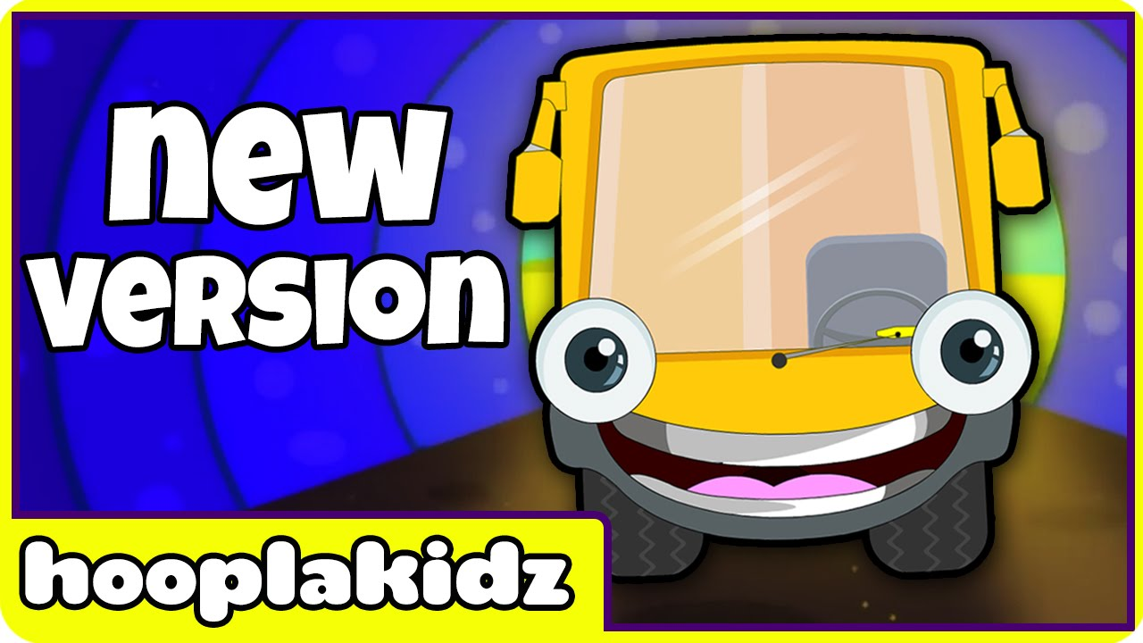 Wheels On The Bus Go Round And Nursery Rhymes For Babies New Yellow By Hooplakidz You