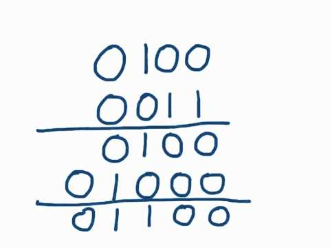 How to multiply two binary numbers