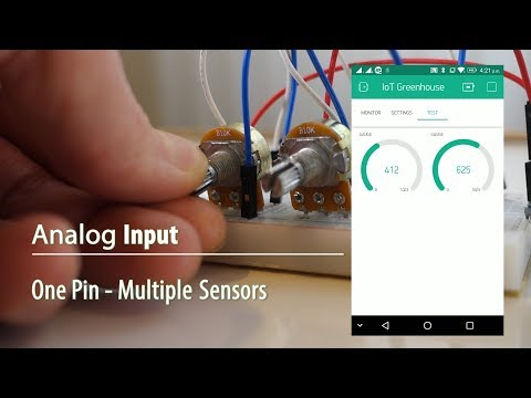 How to read multiple sensors using only one Analog input pin