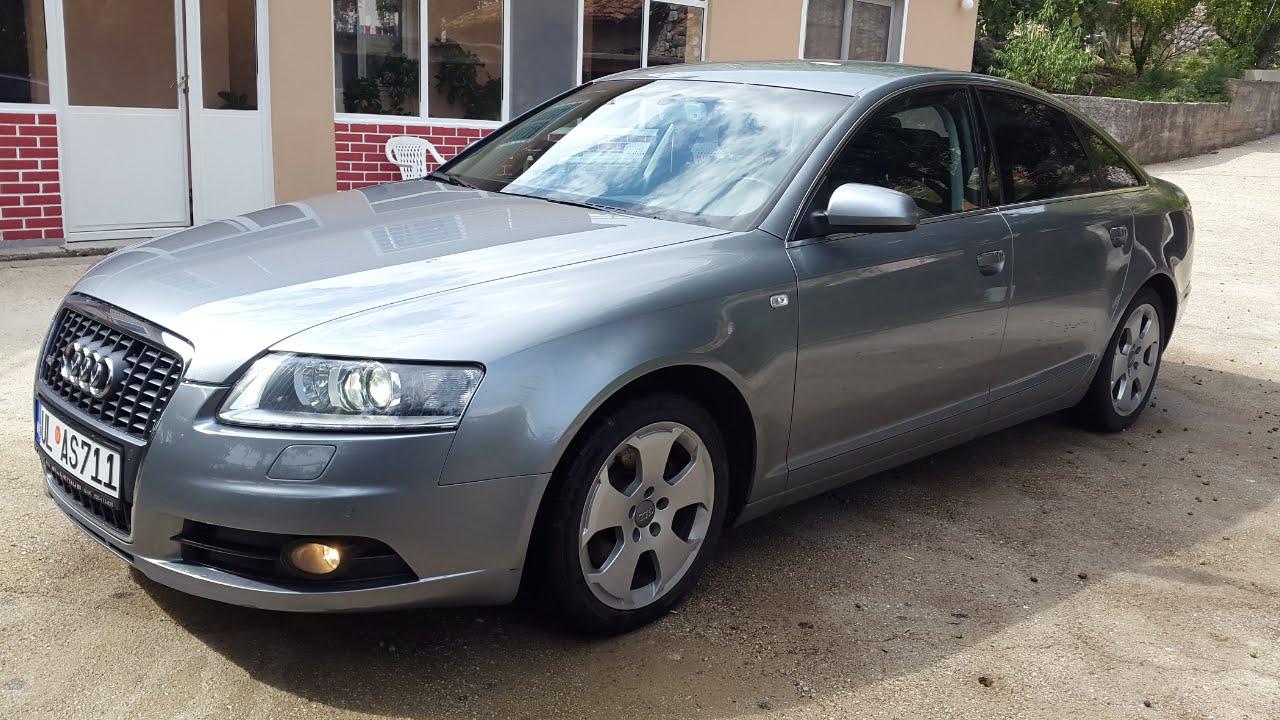 Audi A6 2007 2.0 s-line - YouTube