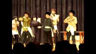 ccms russian dance scene,  fiddler on the roof