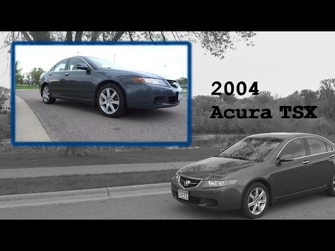 Review 2004 Acura TSX automatic