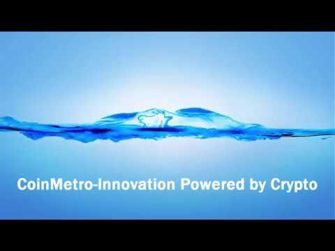 CoinMetro Innovation Powered