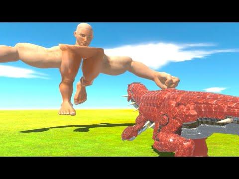 最強巨人ヤマダ vs 改造したポケモングラードンがやばすぎた