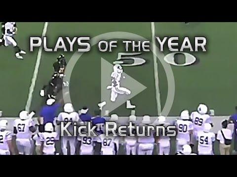 Top 5 Kick Returns 2015
