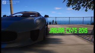 GTA 5 Тест-Драйв и Обзор Автомобиля Jaguar C-X75