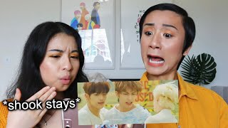 reacting to stray kids side effects music video
