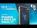 Imagens e configurações do Nokia P1 - Hoje no TecMundo