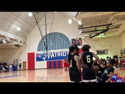 Tucker VS Peachtree MIDDLE SCHOOL GIRLS BASKETBALL Part 3