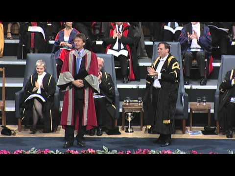Michael Wood - Honorary Degree - University of Leicester