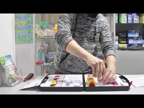 Набор тестов для воды Sera AQUA-TEST-BOX - обзор, распаковка