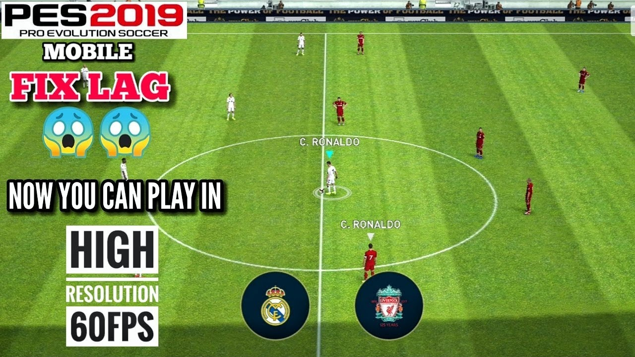 This Video Will Fix your Lag Problem in PES 2019 Mobile