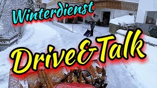 ❄️Winterdienst❄️Schneeräumung🚜DR VE And TALK 🤬 Uncut