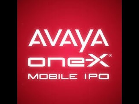 How To Setup The Avaya OneX Mobile IP IPhone App