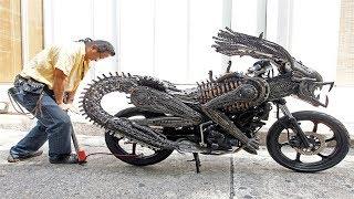 दुनिया की 5 सबसे अजीबो गरीब और अनोखी बाइक | 5 CRAZY BIKES You Wouldn't Believe Exist | Weird bikes