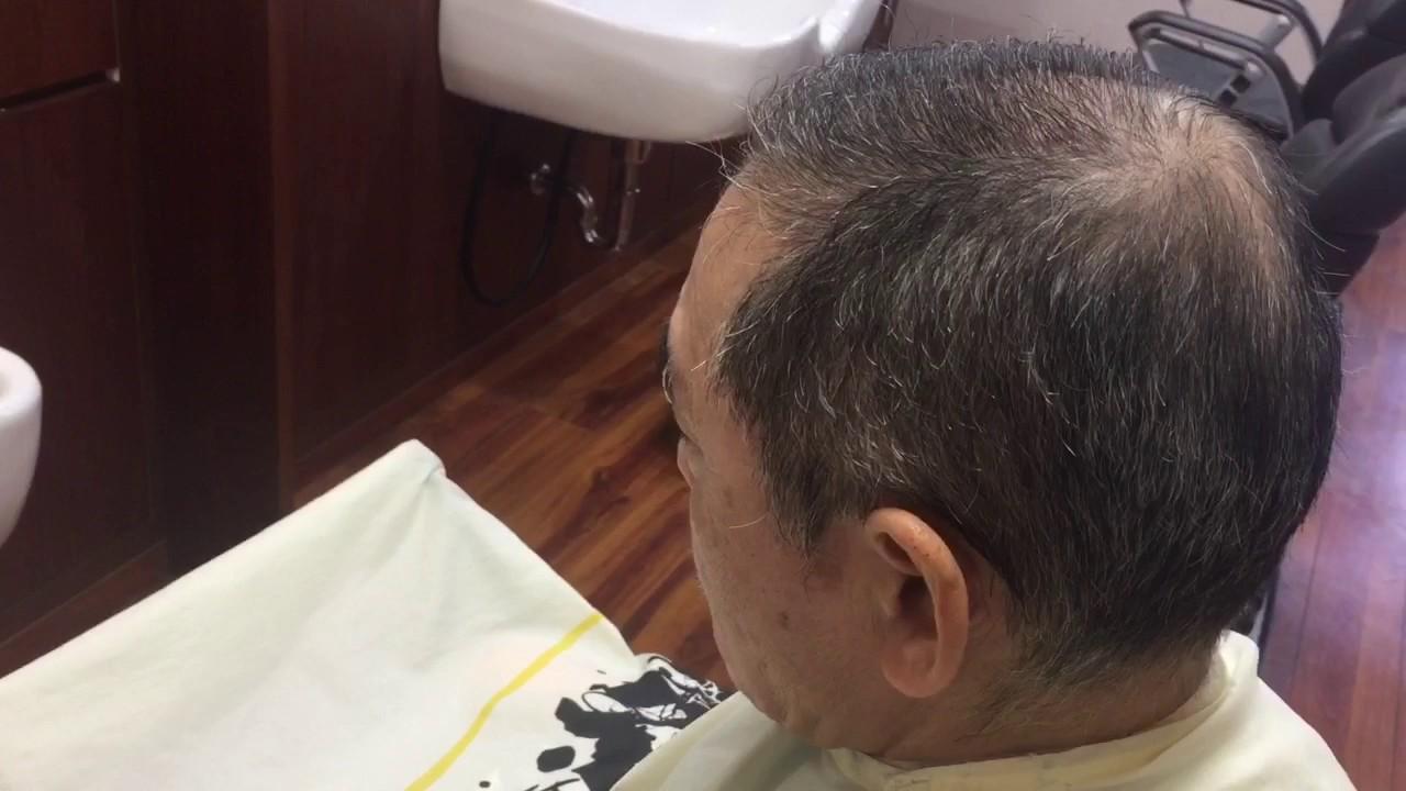 60代の薄毛に最適なヘアスタイル 大東市 Heir Saron Kurisu