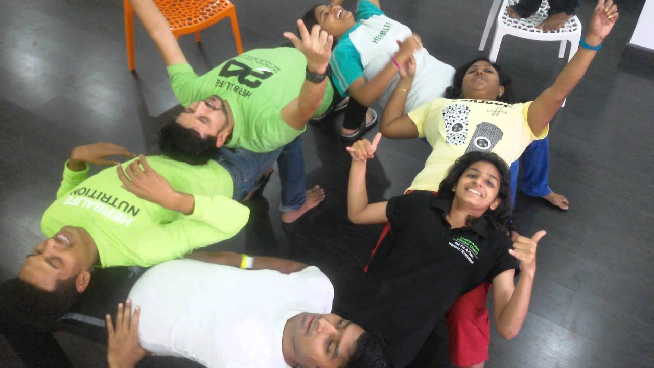 6 people human chair plank per awesome
