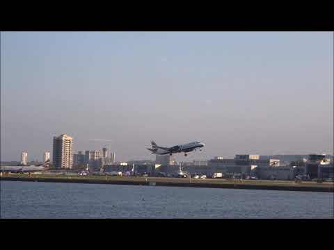 BA Saab 2000 Purring Take Off from London City
