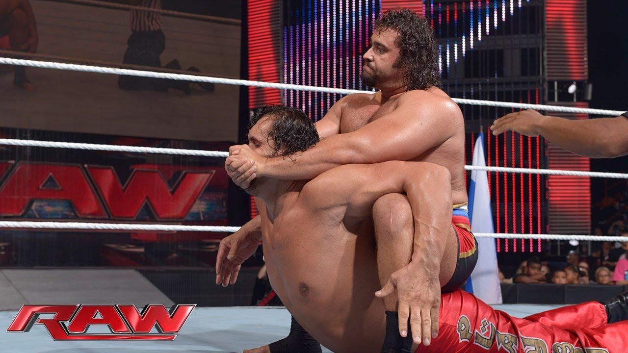 The Great Khali vs  Rusev: Raw, July 21, 2014