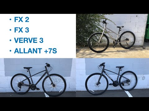 Riding and Reviewing 2021 Trek Hybrid Bikes!!