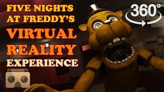 Five Nights At Freddy's:  Virtual Reality Experience 360