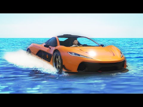 RACING ON WATER! (GTA 5 Funny Moments)