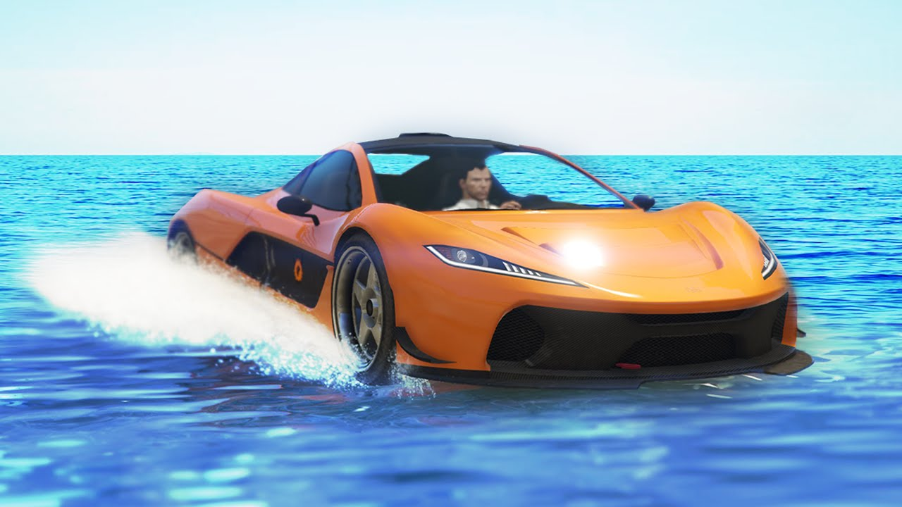 Elegant RACING ON WATER! (GTA 5 Funny Moments)   YouTube