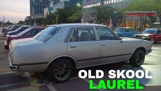 Nissan Laurel aka Datsun 200L   Old School Car   Modified Autoshow Restoration