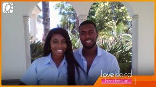 Love Check-up: Nina en Paulo weten nog niet of relatie stand blijft houden na Love Island