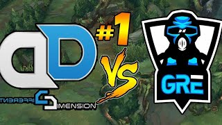 DD Vs GRE - Το Match Του Αιώνα |#1