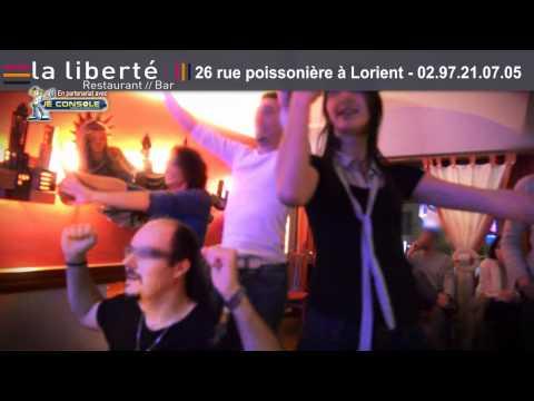 Les soirées GAMING - Danse - Karaoké - au restaurant la liberté à Lorient