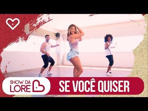 Se você quiser - Harmonia do Samba - Lore Improta   Coreografia