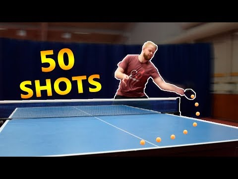 Play 50 Around the Net Shots I Challenge Pongfinity
