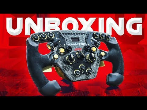 THE BEST LOOKING F1 WHEEL - Fanatec F1 Unboxing
