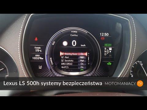 Lexus LS 500h systemy bezpieczestwa Test PL test, prezentacja, pierwsza jazda motomaniacy.tv