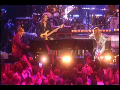 Elton John and Anastacia - Saturday Night's Alright (For Fighting)