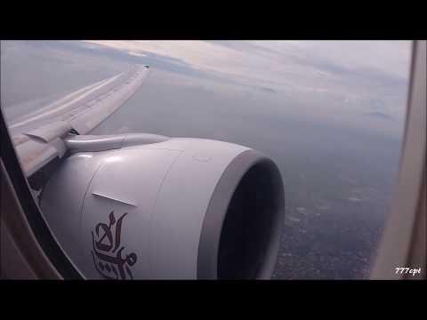 Emirates  |  EK337  |  777-300ER  |  A6-EBV  |  Manila - Dubai  |  Full Flight  HD