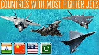 Top 10 Countries With the Most Fighter Jets 2019