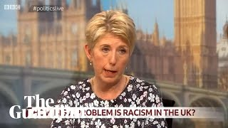 Angela Smith appears to describe people with 'funny tinge' in racism debate