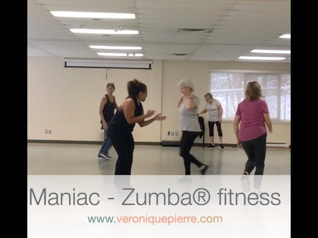 Maniac - Zumba(r)  choreography by Veronique Pierre (Rosemère)