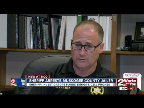 Sheriff arrests Muskogee County jailer